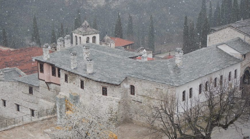 "REHABILITATION & RECONSTRUCTION OF THE NORTHWEST WARD OF ""TIMIOS PRODROMOS"" HOLY MONASTERY OF SERRES"