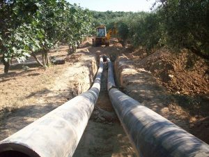 CONSTRUCTION OF PUBLIC WATER SUPPLY SYSTEM BETWEEN AGIOS PAULOS VILLAGE AND MESSINI, 1st PHASE - PART 1