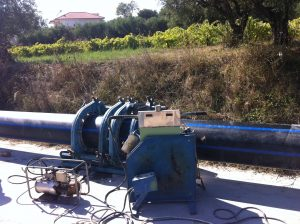 """REPLACEMENT OF THE CENTRAL PUBLIC WATER SUPPLY DUCT BETWEEN """"TSIPOS"""" QUARRY AT LITHAKIA VILLAGE AND CENTRAL TANK OF ZAKYNTHOS AT BOCHALI VILLAGE (DUCT D2 - D3)"""