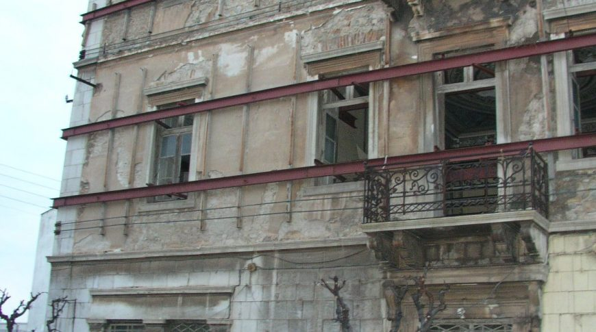 RESTORATION, RECAST AND CONSERVATION IN MUSIC HALL OF PANAGIOTOPOULOS' STORED BUILDING