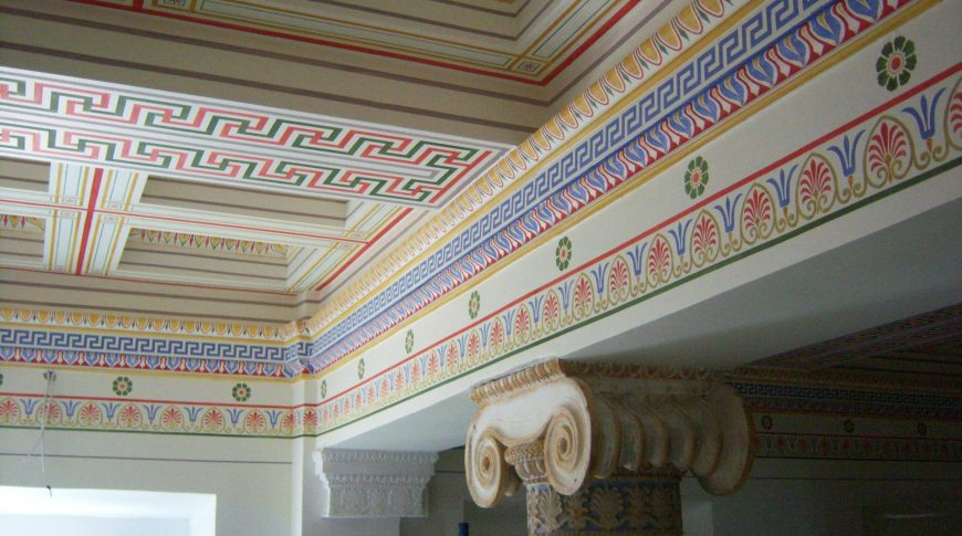 ARCHITECTURAL AND PAINTING DECORATION MAINTENANCE OF PANAGIOTOPOULOS' STORED BUILDING