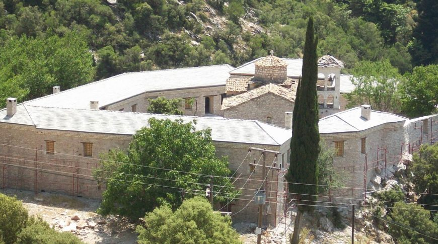 """CONSERVATION OF THE """"PANAGIA PORETSOS"""" HOLY MONASTERY IN GUEST HOUSE FOR THE PURPOSE OF WORSHIP TOURISM"""