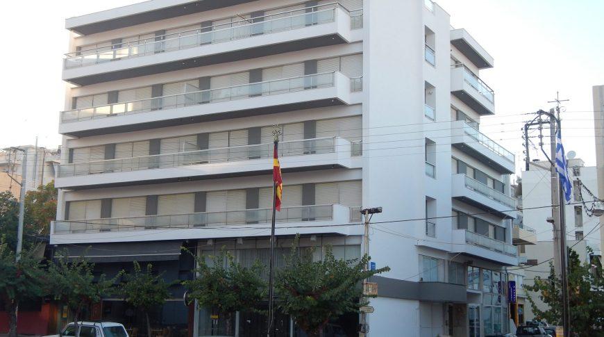 REPAIR OF THE BUILDING @ 1, K. THEODOROU st & MITROPOLEOS st - AIGIO