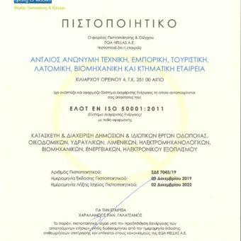 ΑΝΤΑΙΟΣ ISO 50001 - gr
